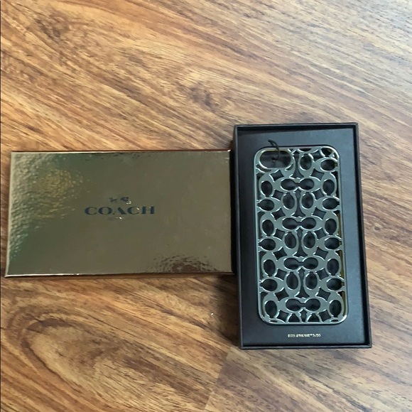 Coach IPhone 5/5S Cell Phone Case